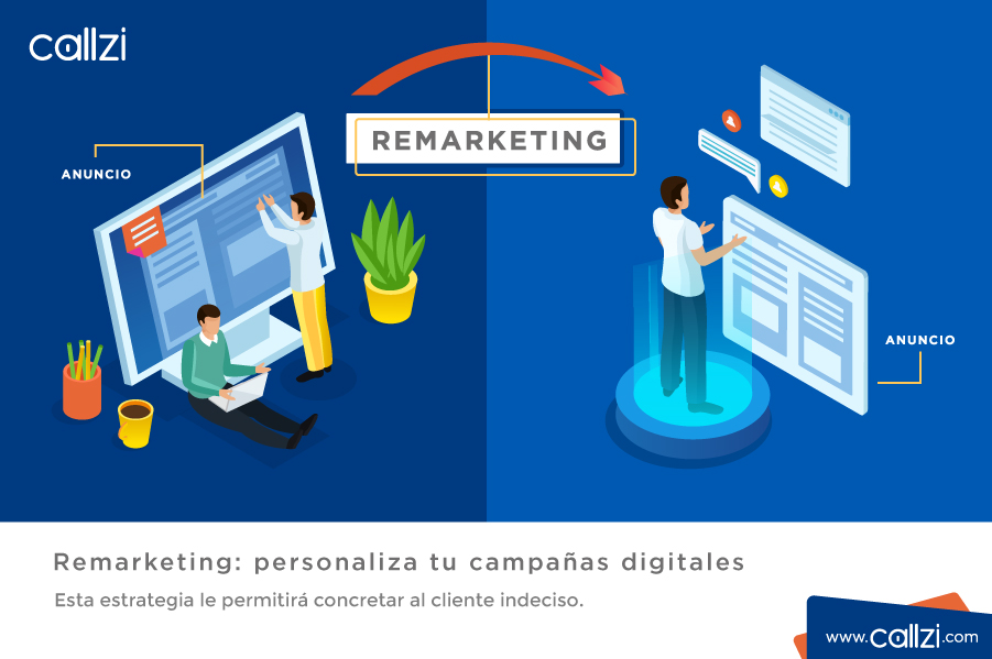 Remarketing: personaliza tu campañas digitales