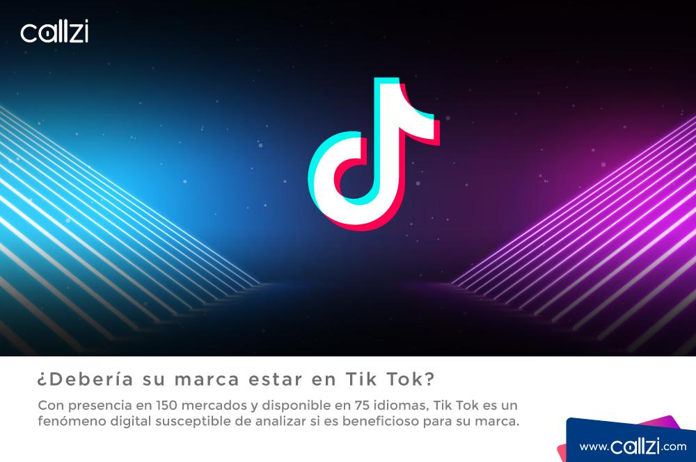 ¿Debería su marca estar en Tik Tok?